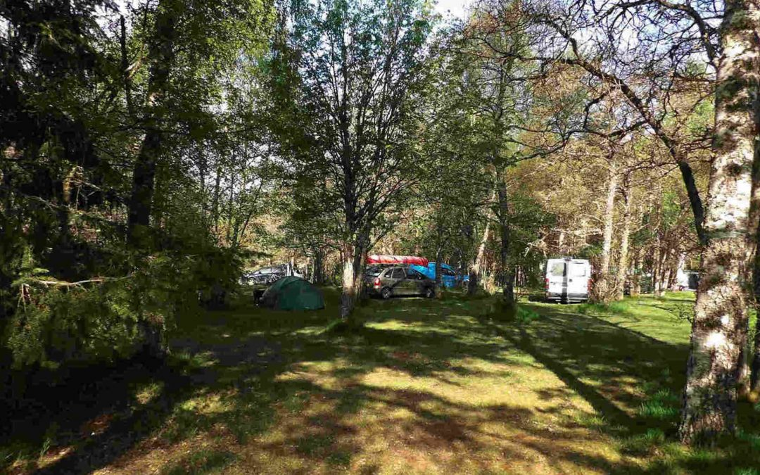 Cannich Caravan and Camping Park 2019
