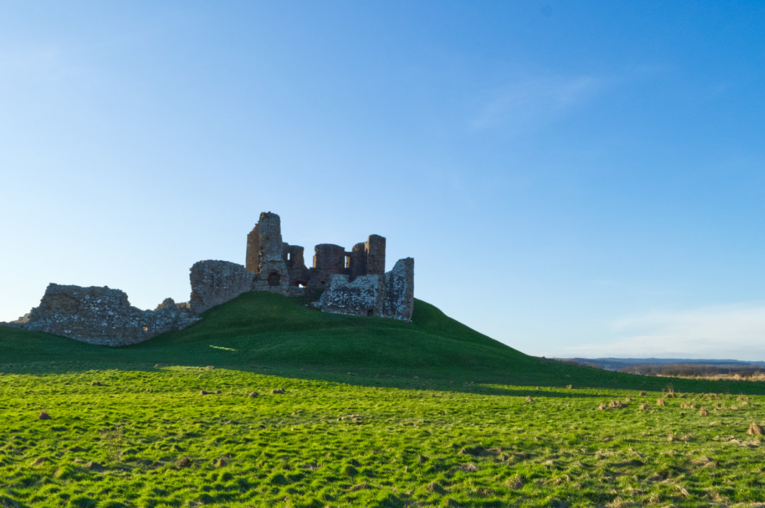 Duffus Castle near Elgin