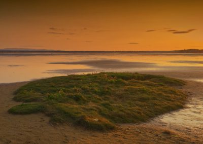 Findhorn Reserve Sunset from the beach