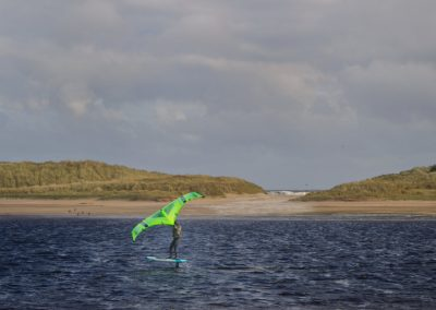 Lossie River Windsurfer
