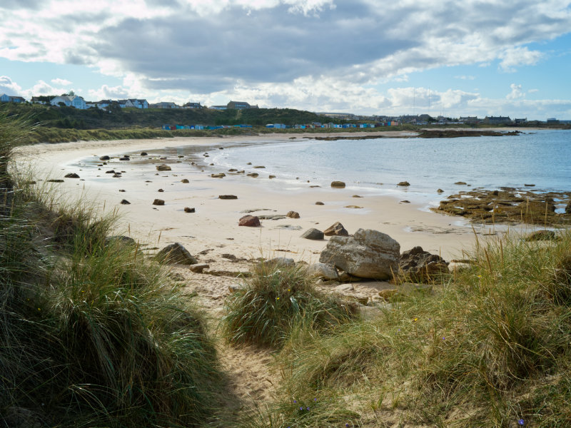 View to Hopeman from the East Beach